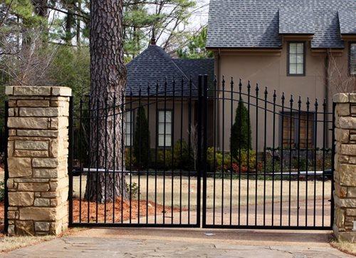 Garden gate ideas wrought iron wooden vinyl