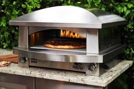Countertop Pizza Oven Used : ... Artisan Fire Pizza Oven is designed to sit atop an outdoor countertop