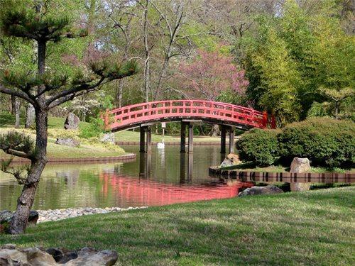 Japanese Garden Bridges Pavilions Landscaping Network