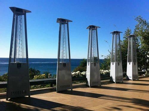 Lava heat patio heater landscaping network for Handy heater italia opinioni