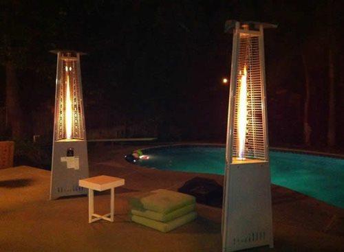Pair Of Lava Heaters