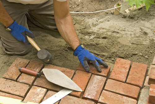 Installing Brick Paving Landscaping Network