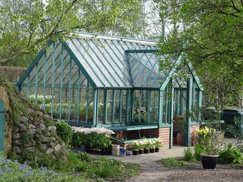 Planning a greenhouse landscaping network for Green small house plans