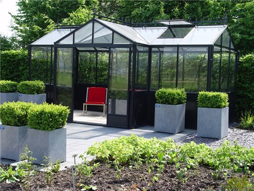 Planning a greenhouse landscaping network for Residential greenhouse designs