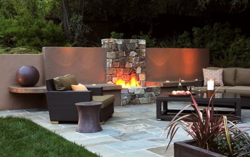 Backyard Remodel Bay Area : doesnt mean you cant have indoor comforts This Bay Area backyard