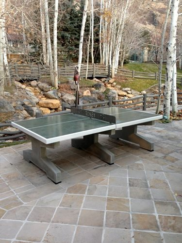 Table Tennis Room Design: Backyard Ping Pong Tables