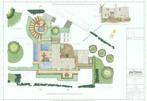 Expert landscape design rules landscaping network for Landscape pre planned garden designs