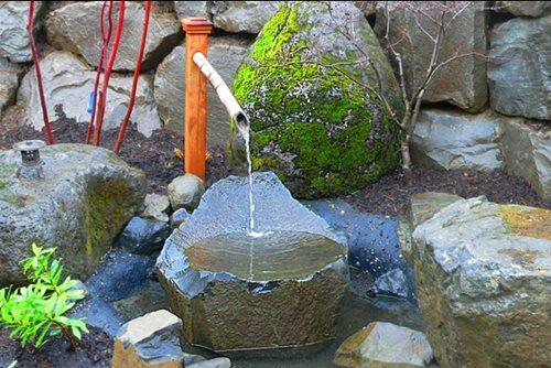 Japanese garden fountain photos ideas landscaping network for Japanese garden water feature