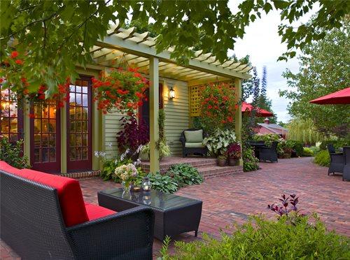 Images Backyard Patios : Brick Patio Ideas  Landscaping Network