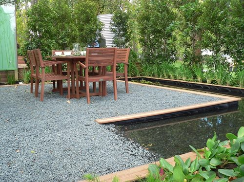 Garden Furniture On Gravel gravel landscape paving - landscaping network