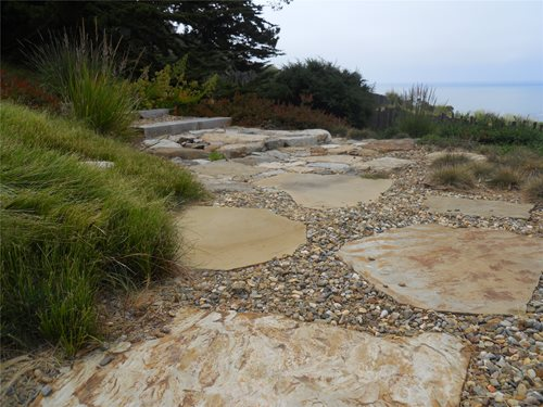 casa serena landscape designs llc in tucson az flagstone walkways - Flagstone Walkway Design Ideas