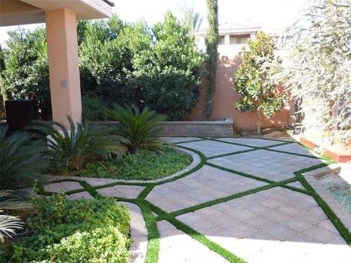 Artificial Turf Backyard Landscaping Network