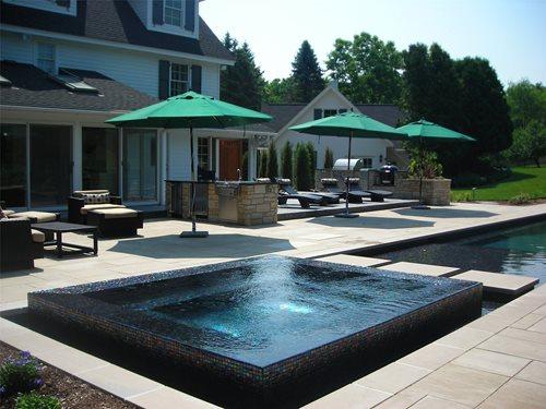 spa patio designs | patio ideas and patio design - Spa Patio Designs