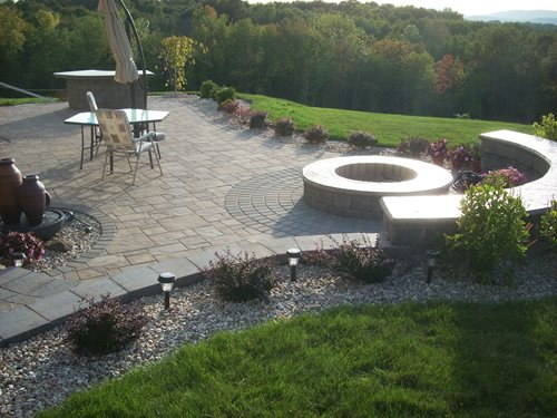 Backyard Hill Removal : Poughkeepsie Outdoor Living Space  Landscaping Network