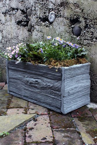 Stylish Concrete Planters Landscaping Network