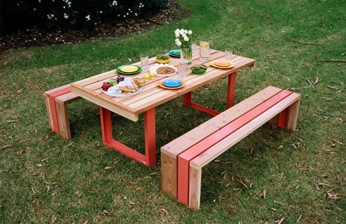 Make a Picnic Table Bench