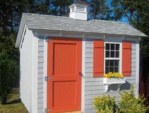 Saltbox shed landscaping network for Saltbox sheds