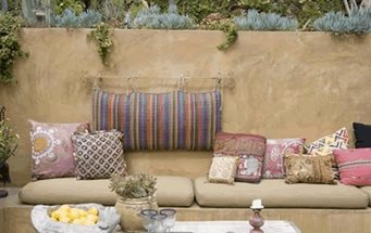 Mexican patio furniture landscaping network - Mexican style patio design ...