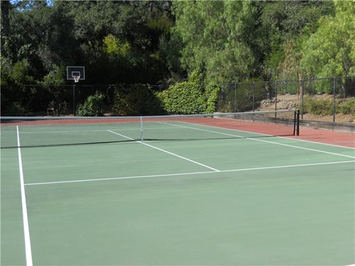 Backyard Tennis Court tennis courts – backyard games - landscaping network