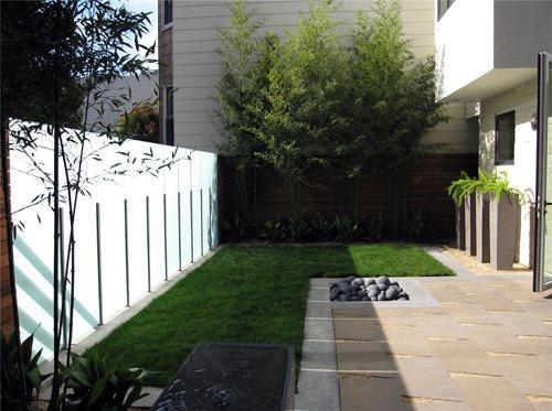 Urban garden landscaping network for Urban glass fencing