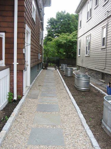 Side Yard Stock Tanks Landscaping Network