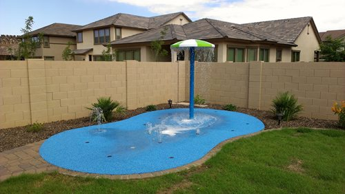Residential Splash Pads - Landscaping Network