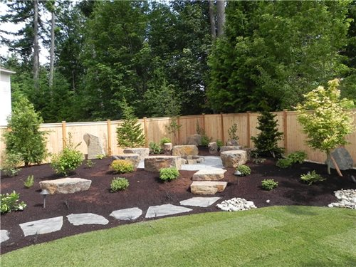 Landscaping with boulders landscaping network for Ideas for landscaping large areas