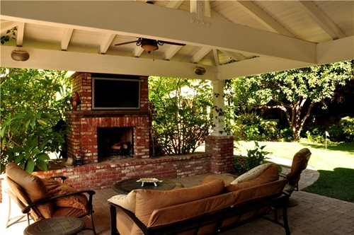 Outdoor Fireplace Layout And Planning Landscaping Network