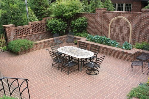 Brick Patio Ideas - Landscaping Network on Backyard Masonry Ideas id=67822
