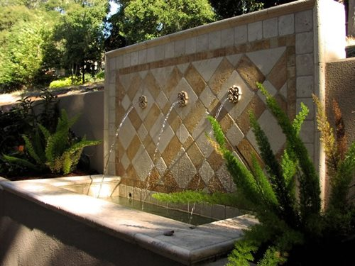 Design ideas arizona backyard landscaping pictures 3 elite Water fountain landscaping ideas