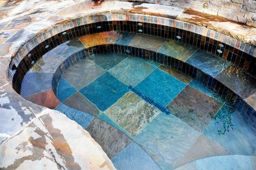 Prefab Tiled Spas Landscaping Network
