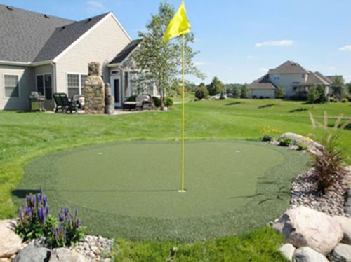 15u0027 X 17u0027 Putting Green   NO Foam Edge Transition