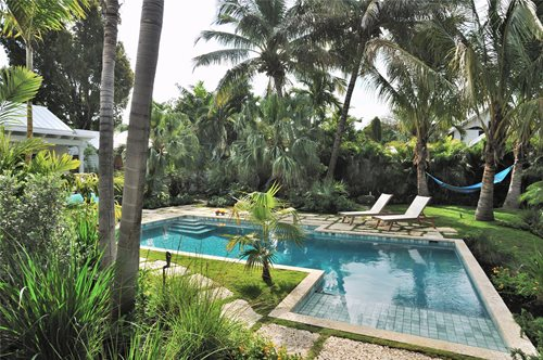 Key West Pool Amp Tropical Garden Landscaping Network