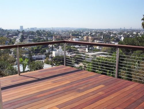 Cable Deck Railing Design 500 x 377