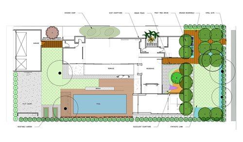 Modern Ipe Pool Deck Landscaping Network