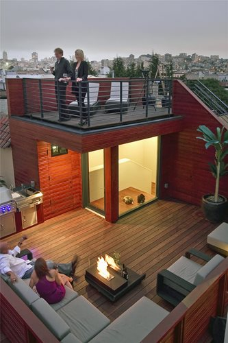 Sustainable San Francisco Rooftop