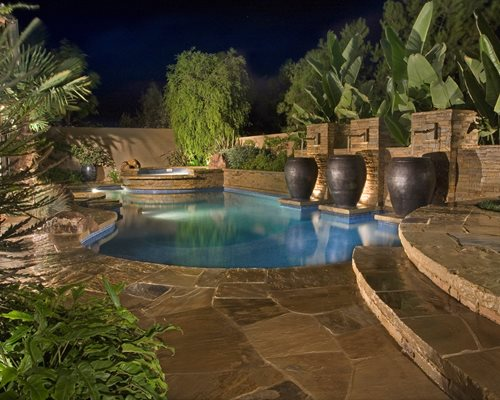 Luxury Backyard Features : Swimming Pool Design Ideas  Landscaping Network