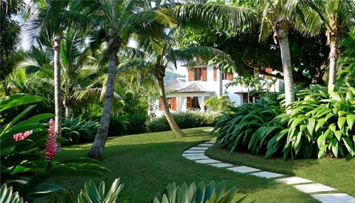 Tropical Walkway - Florida Landscaping Ideas - Landscaping Network