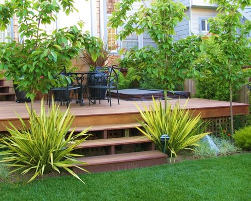 Northern california landscaping ideas landscaping network for Garden decking and grass