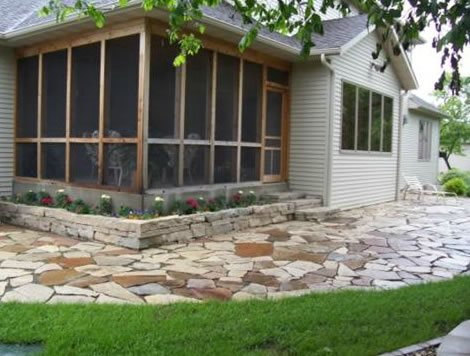 screened porch screened patiowalkway and pathsignature landscapes inc