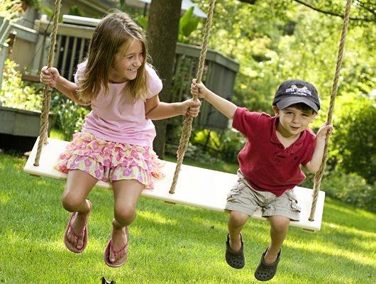 Breezy Wooden Swings ,