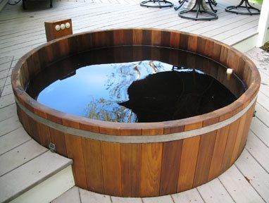 Conventional Deck Maine Cedar Hot Tubs ,