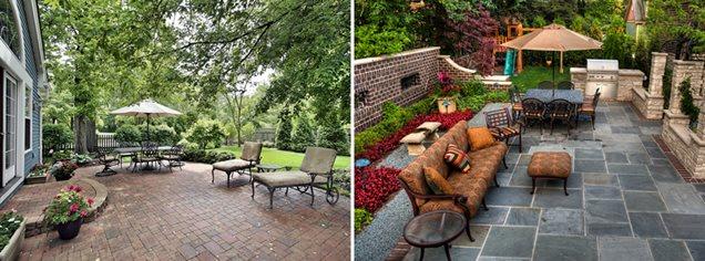 spacious vs. enclosed patio