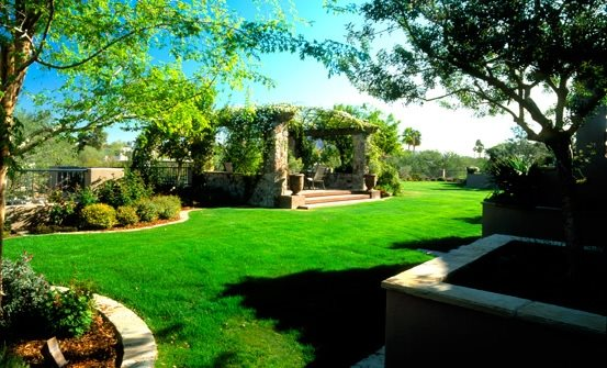 Backyard Destination Patio Backyard Landscaping EarthArt Landscape & Designs, Inc. Phoenix, AZ