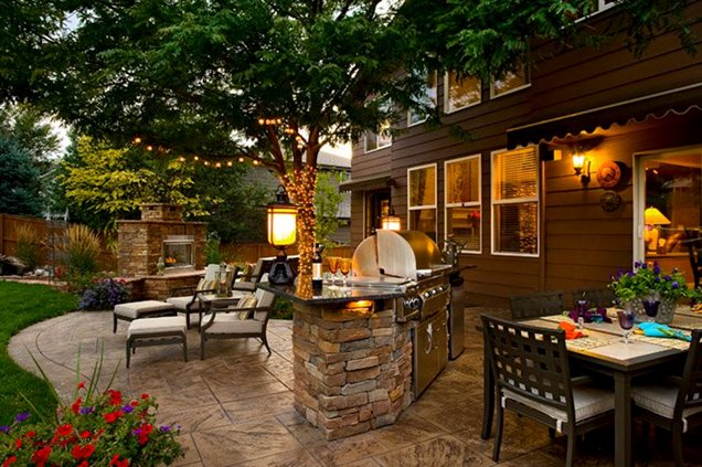 patio layout kits
