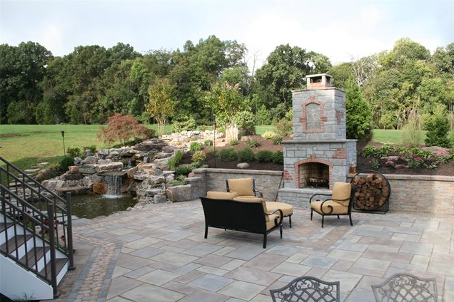 Backyard Landscaping - Sterling, VA - Photo Gallery - Landscaping
