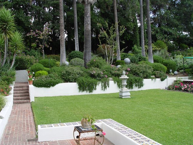 Landscaping landscaping ideas for backyard with a slope