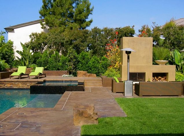 Backyard Landscaping Newport Beach CA Photo Gallery