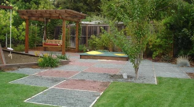 Backyard Landscaping Ideas Kid Friendly : Backyard landscaping palo alto ca photo gallery