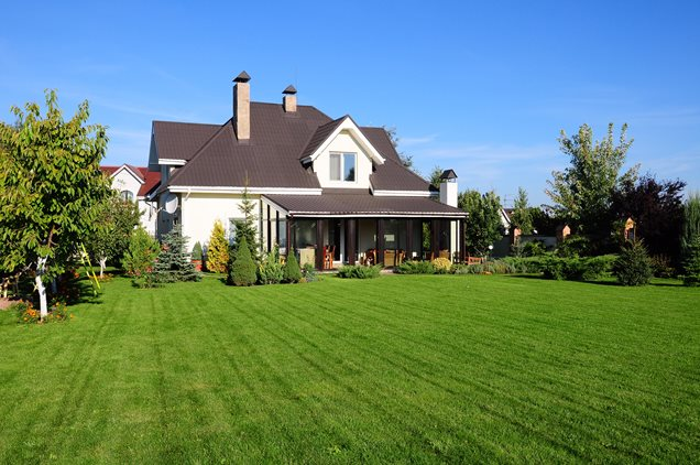 Ideas for lanscaping buy landscaping ideas for large for Large backyard landscaping ideas